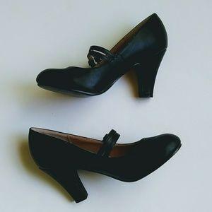 JG Shoes - JG Maryjane pumps black
